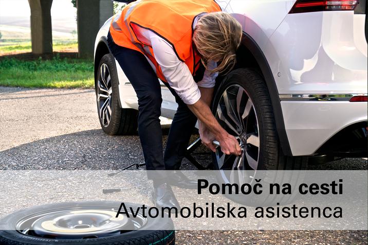 Avtomobilska asistenca pomoč na cesti