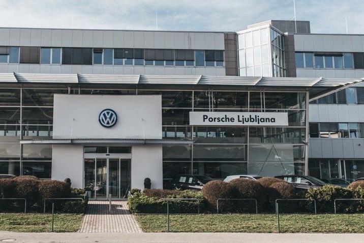 Porsche Ljubljana servis