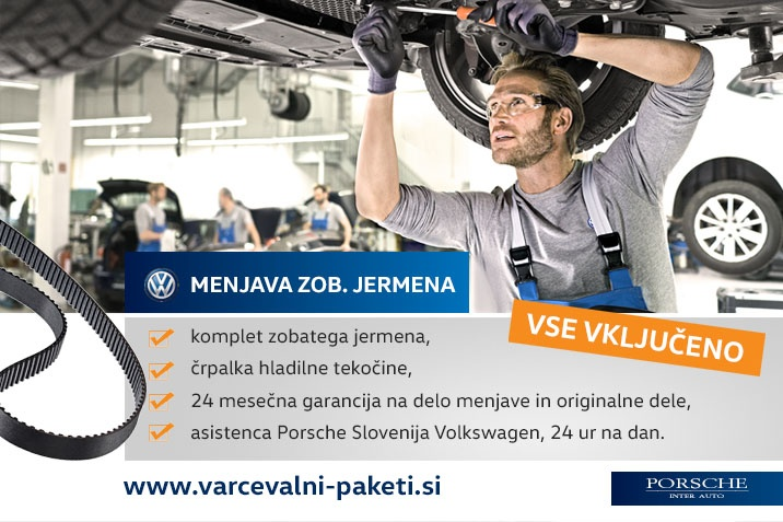 Servis Volkswagen Passat veliki servis menjava jermena
