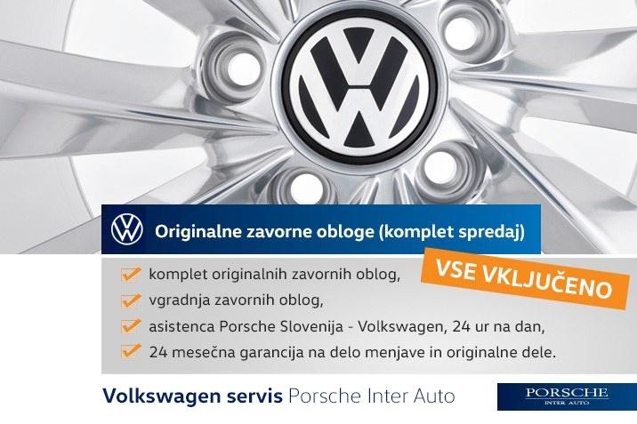 ZAVORNE PLOŠČICE VW GOLF PASSAT TOURAN